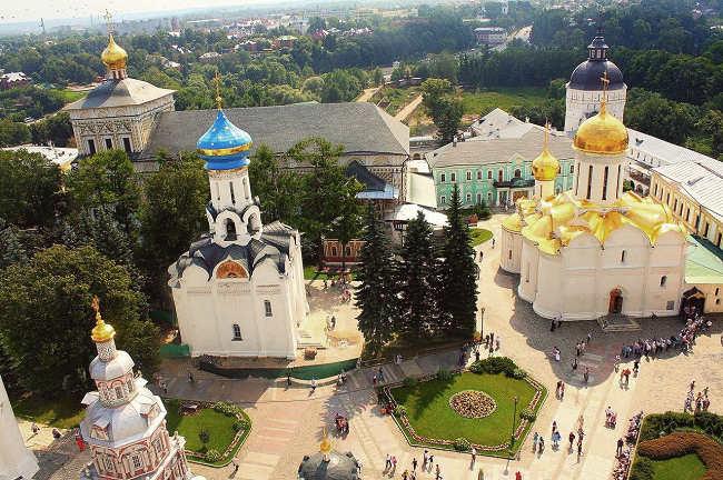 Visite de Serguiev Possad